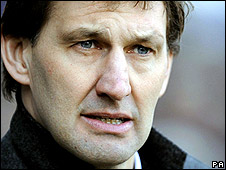 Former Portsmouth manager Tony Adams