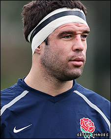 Wasps and England flanker Joe Worsley