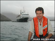 David Shukman (M.Georgiou/BBC)