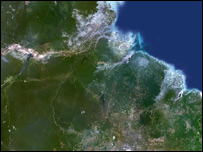 Imagen digital de la deforestación en el Amazonas (Foto: Science Photo Library)