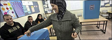 An Israeli Arab votes