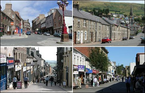 Town pictures - Courtesy Undiscovered Scotland