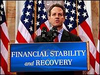 Timothy Geithner, secretario del Tesoro de EE.UU.