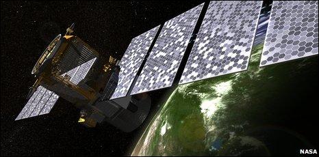 CALIPSO satellite, artist's impression