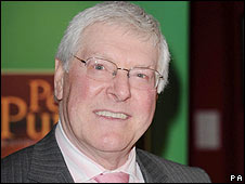 Former Blue Peter presenter Peter Purves
