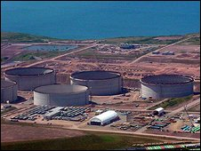 South Hook LNG under construction