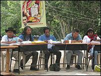 Jueces ind�genas. Foto: Organizaci�n Nacional Ind�gena de Colombia