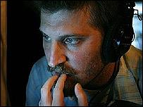 Adri�n Bienez, director de cine argentino radicado en Montevideo