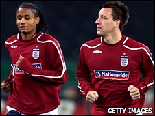 Michael Mancienne and John Terry