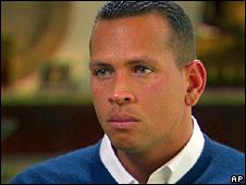 Alex Rodriguez is interviewed by ESPN, 9 Feb