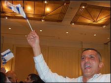 Mordechai Efrach, 41, Kadima supporter
