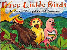 Cover of Three Little Birds by Cedella Marley