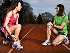 Steph Twell and Jo Pavey