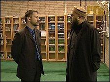 Steven Longden and Iman Abus Eesa
