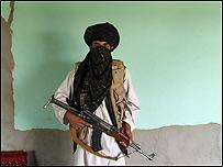 Hombre talibán