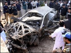 Bomb attack in Peshawar