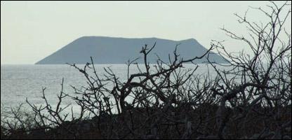 Isla Dafne Mayor, en Gal�pagos.