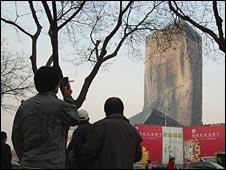 Ruins of Beijing's Mandarin Oriental Hotel