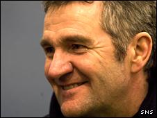 Scotland head coach Frank Hadden