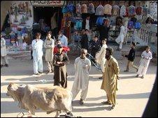 Baldia market