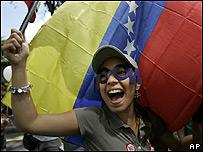 """Partidarios del """"No"""" en Venezuela"""