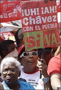 """Partidarios del """"S�"""" en Venezuela"""