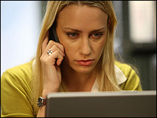 Actor Ruta Gedmintas as Rachel Harris in BBC spy drama Spooks: Code 9