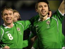 Grant McCann and Gareth McAuley