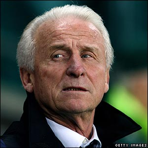Republic manager Giovanni Trapattoni