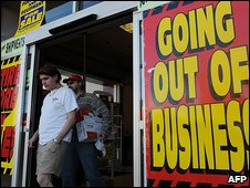 Business closes in Los Angeles