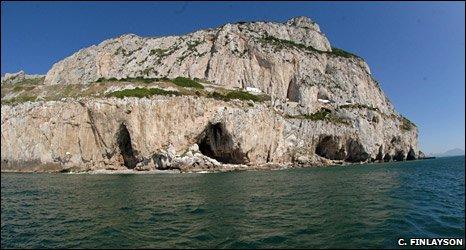 Gibraltar caves (Clive Finlayson)