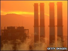 Generating station in Sun Valley, California, file pic