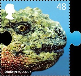 Darwin zoology stamp