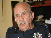 Francisco Velasco Delgado, ex director de seguridad p�blica de Canc�n