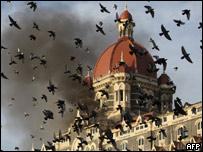 Atentado en Bombay, noviembre de 2008.