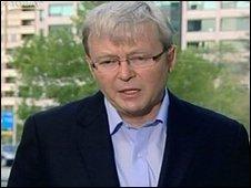 Australian Prime Minister. Kevin Rudd