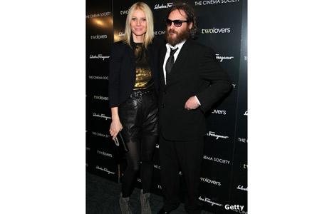 Gwyneth Paltrow and Joaquin Phoenix