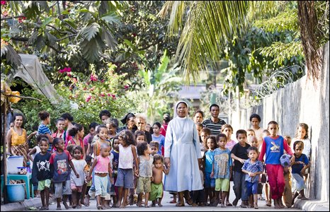 Sister Guilhermina Marcal, of the Canossian Convent in Dili.