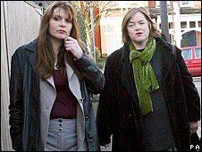 Sara Payne and Louise Casey