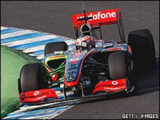 Heikki Kovalainen in the new McLaren