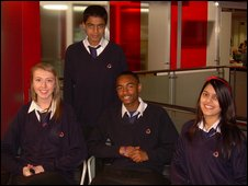 School Reporters from London Academy
