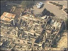 Wrecked properties in Marysville