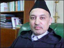Abdellatif Begdouri Achkari of Morocco's Islamic Affairs Ministry