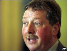 Sammy Wilson called a climate change awareness campaign 'propaganda'