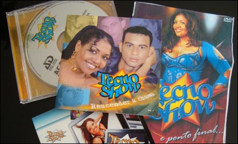 Tecnobrega CDs are used to advertise rather than to make money