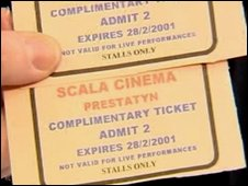 Eight-year-old Scala tickets