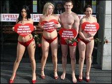 Peta campaigners