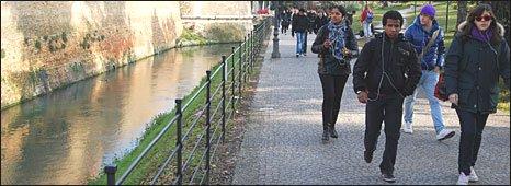 Street scene in Treviso
