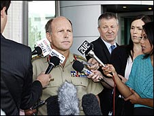 Lt Gen Mark Evans, courtesy Australian defence ministry website