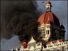 Taj Mahal hotel under attack in November 2008